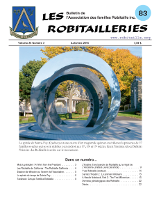 Robitailleries No 83