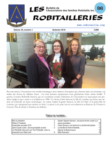 Robitailleries No 86