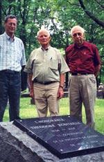Les artisans de la restauration de la plaque de Théodore